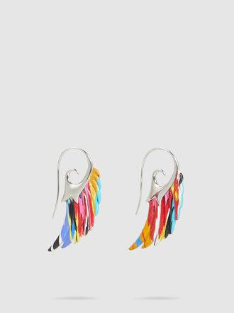 muzungu sisters - Noor Fares x Muzungu Sisters Wing Silver-Tone Earrings