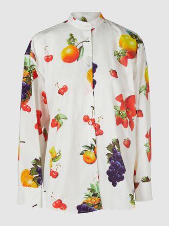 MSGM - Printed Cotton Shirt
