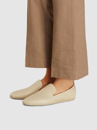 MERCEDES CASTILLO - Tiziana Flat Leather Loafers