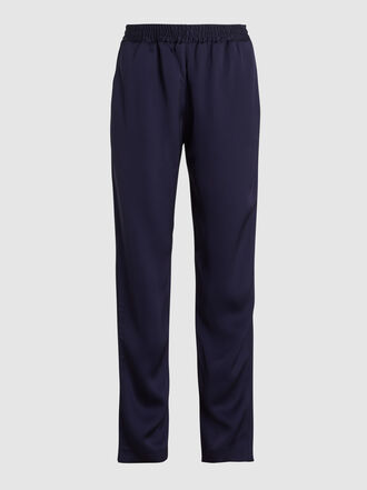 LAYEUR - Rosa Tapered Viscose-Blend Jogger Trousers