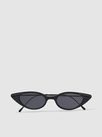 Illesteva - Marianne Cat Eye Acetate Sunglasses