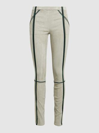 Haider Ackermann - Slim-Fit Stretch Suede Trousers