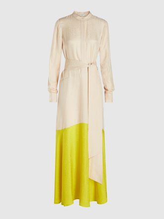 LAYEUR - Watson Tie-Neck Shirt Dress