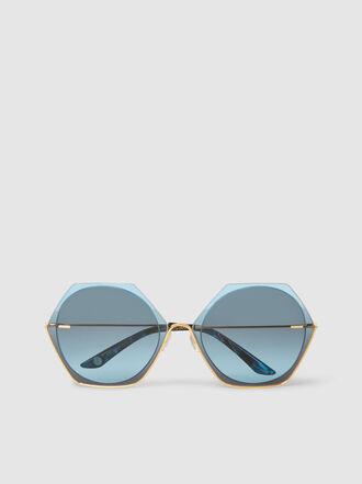 MØY ATELIER - Nobody's Darling Hexagon-Frame Sunglasses