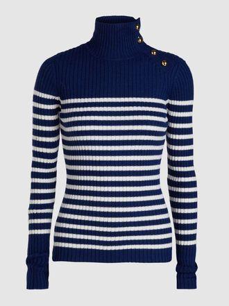 Baum und Pferdgarten - Cirea Striped Wool Sweater