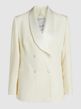 Giuliva Heritage Collection - Dorothea Double Breasted Wool Blazer