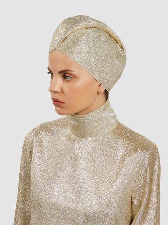 Taller Marmo - Vegas Residency Silk-Blend Lurex Turban