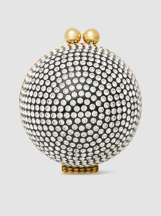 Marzook - Classic Orb 16cm Swarovski Crystal Ball Bag