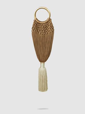 Cult Gaia - Angelou Mini Ombre Tassel Clutch