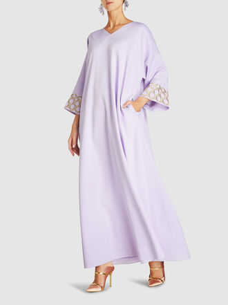 LAYEUR - Franklin Embellished Kaftan Dress