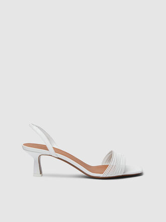 NEOUS - Rossi Leather Slingback Sandals