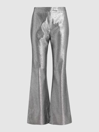 LAYEUR - Watson Lamé Flared Trousers