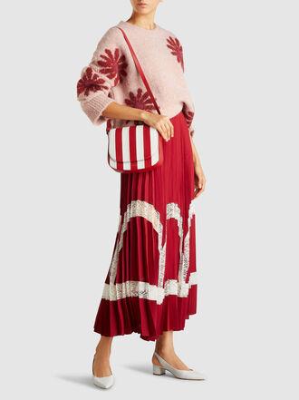 Mansur Gavriel - Striped Leather Crossbody Bag