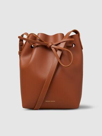 Mansur Gavriel - Mini Leather Bucket Bag