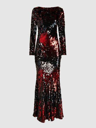 Talbot Runhof - Lorena Sequinned Gown