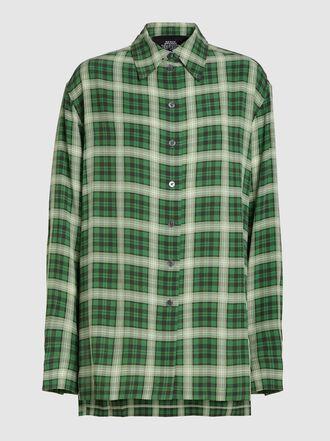 Marc Jacobs - Plaid Silk Shirt