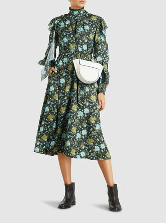Golden Goose Deluxe Brand - Willow Floral Printed Midi Dress