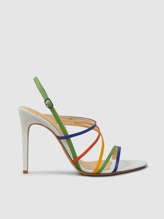 ALEXANDRE BIRMAN - Strappy Heeled Leather Sandals