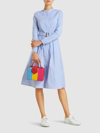 MEHRY MU - Fey Mini Colour Block Box Bag