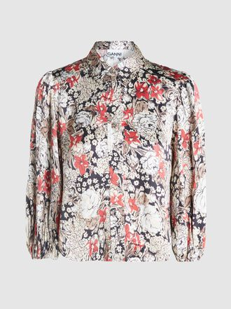 Ganni - Cameron Floral Print Shirt