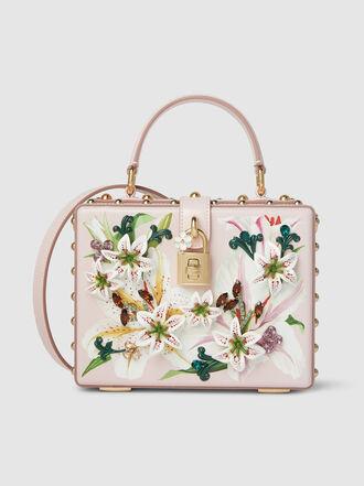 Dolce & Gabbana - Embellished Leather Box Bag