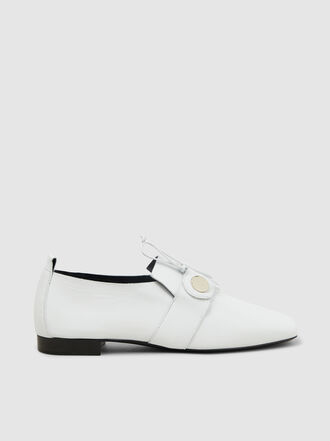 Pierre Hardy - Penny Lace Leather Loafers
