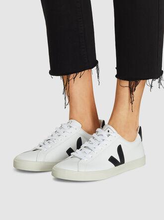 VEJA - Esplar White Leather Sneakers