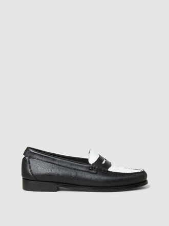 RE/DONE - The Whitney Two-Tone Leather Loafers
