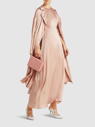 Mansur Gavriel - Silk-Satin Maxi Dress