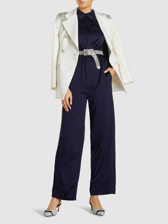 Alessandra Rich - Crystal Studded Belt