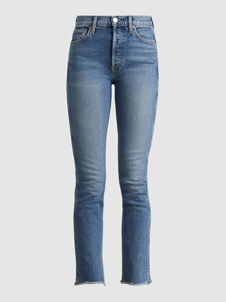 RE/DONE - High-Rise Double Needle Jeans