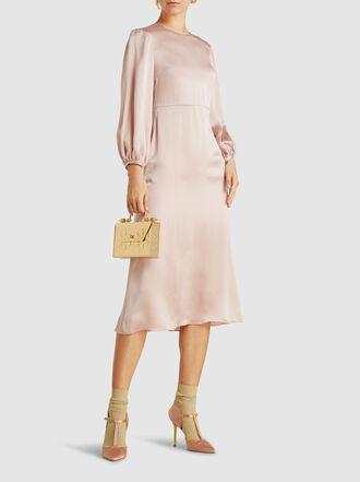 Mansur Gavriel - Hammered-Silk Midi Dress