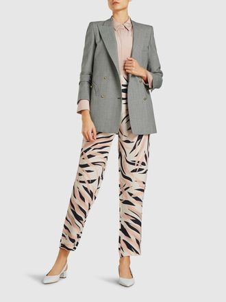 LAYEUR - Rosaline Tapered Crepe Trousers