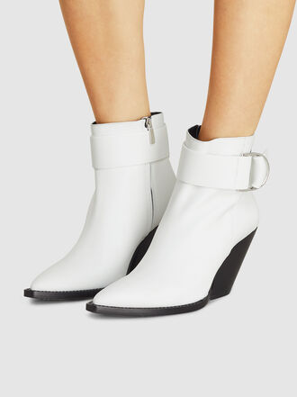 IRO - Arez Buckle Detail Leather Ankle Boots