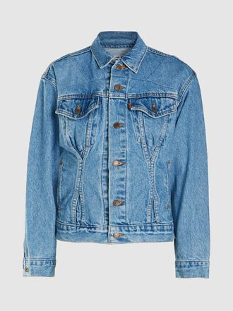 RE/DONE - Corset Long Sleeves Denim Jacket