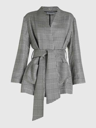LAYEUR - Dench Kimono Belted Viscose Jacket