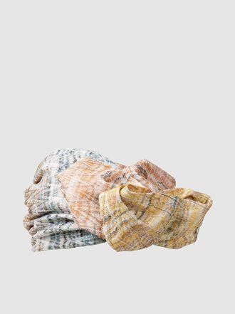 MISSONI - Zigzag Metallic Crochet Knit Turban