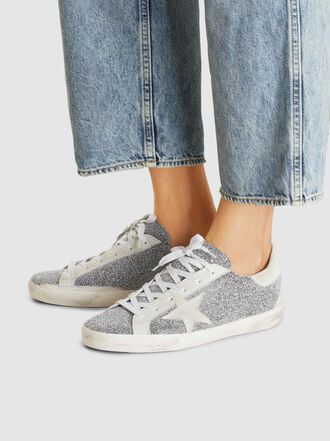 Golden Goose Deluxe Brand - Swarovski Embellished Superstar Low-Top Sneakers