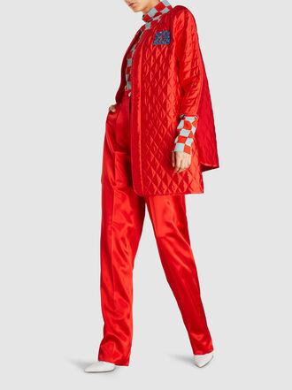 Escada - Tailored Straight Leg Silk Trousers