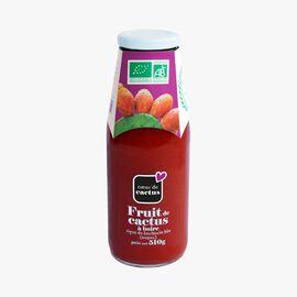Organic cactus fruit drink Cœur de Cactus
