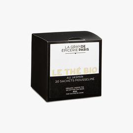 Organic Jasmine tea – 20 muslin teabags La Grande Épicerie de Paris