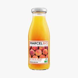 Organic peach nectar Marcel Bio