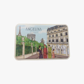 Iron tin of assorted biscuits Angelina