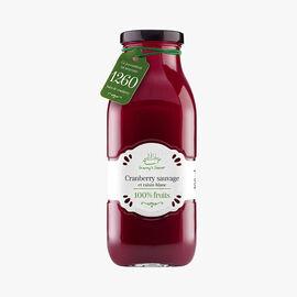 Jus de cranberry sauvage et de raisin blanc Granny's Secret