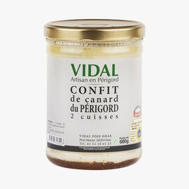 Périgord duck confit – 2 thighs Vidal