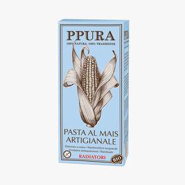 Organic Radiatori corn pasta Ppura