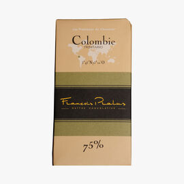 Colombia 75 % chocolate bar Pralus