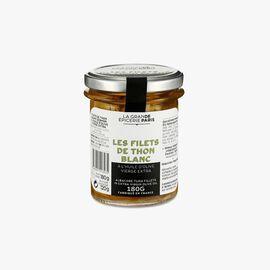 Albacore tuna fillets in extra virgin olive oil La Grande Épicerie de Paris
