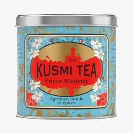 Prince Vladimir, metal tin Kusmi Tea