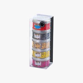 Moments box, 5 metal tins Kusmi Tea